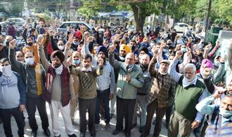 Series of protests rock Jalandhar city, cripple life
