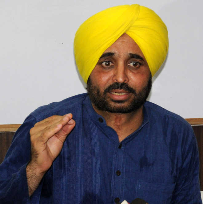 Centre should not test farmers' patience: Bhagwant Mann