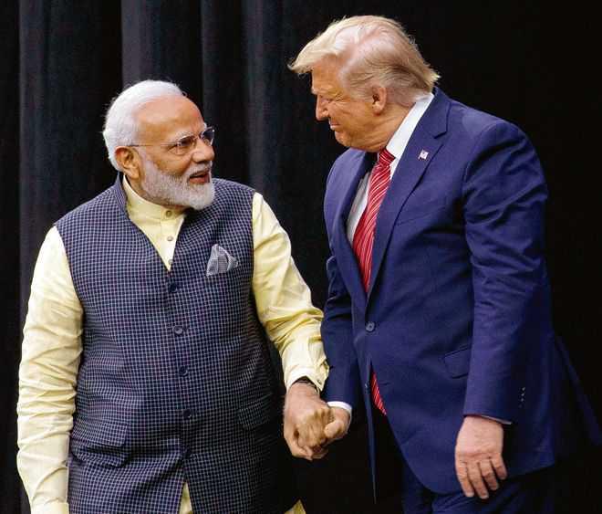 Trump presents Legion of Merit award to Narendra Modi