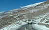 Bus service resumes on Keylong road