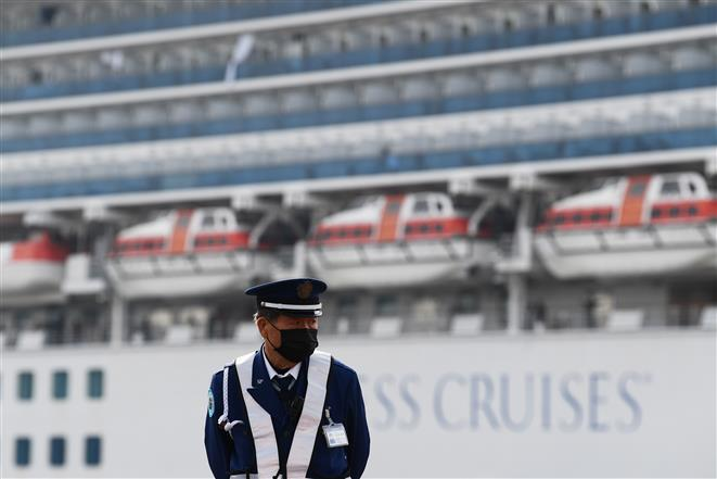 Third Indian crew onboard cruise ship off Japanese coast tests positive for coronavirus