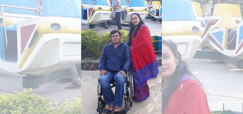 They chose partners accepting disability as ability