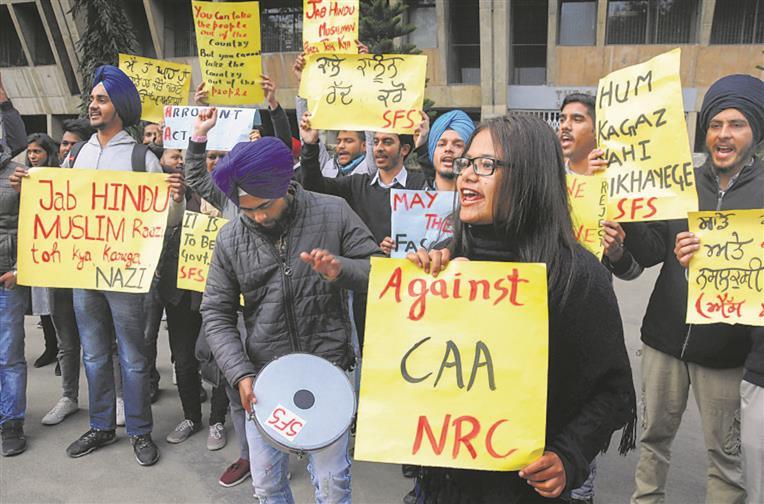 Unrest, turmoil over CAA do not augur well