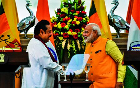 Empower Tamils: Modi to Sri Lanka PM