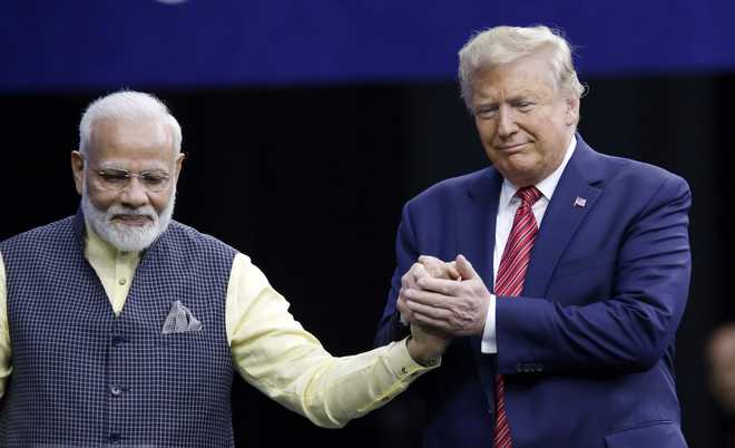 Trump says it's honour that FB ranked him no. 1 and PM Modi no. 2