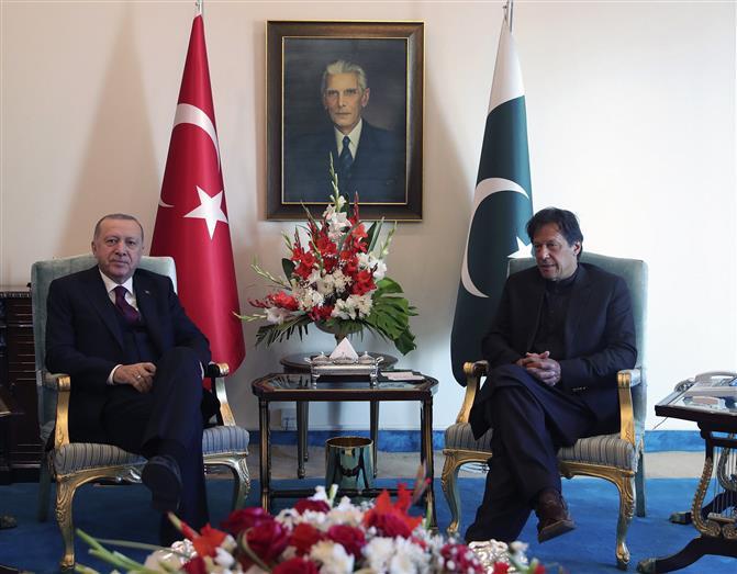 Erdogan raises Kashmir in Pak Parliament, says issue close to both countries
