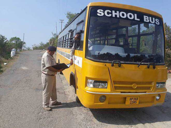 RTA challans 136 buses in Faridkot