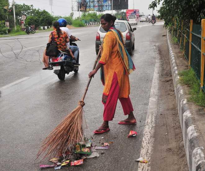 MC sanitation staff say no to GPS watches