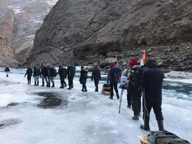 Chadar trek fest begins today