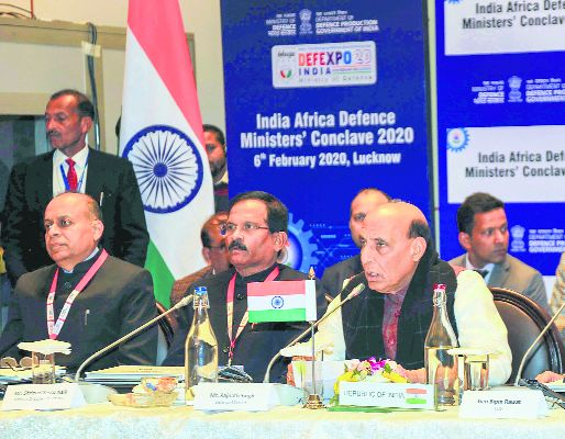India, US set for biggest defence collaboration, says Rajnath