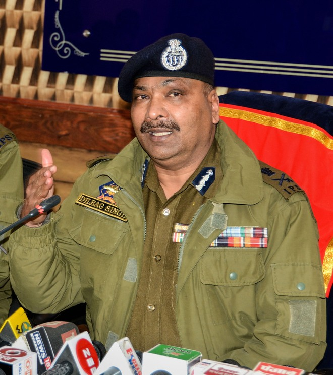 Decline in violence-related incidents, says J&K DGP