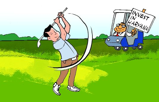 Haryana turns to golf to tee up Japanese investment