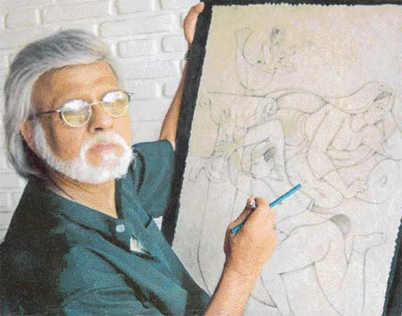 Satish Gujral: Passage from pain to peace