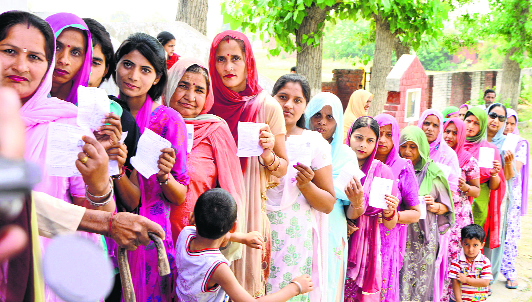 Time women got 33% quota for seats in Houses