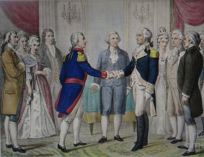 Handshakes in changed times