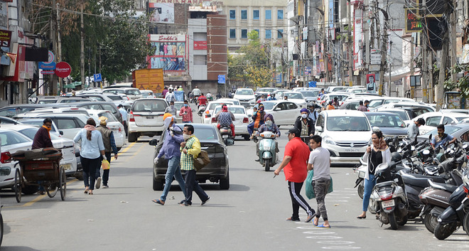 Curfew norms go for a toss as chaos rules roads in city