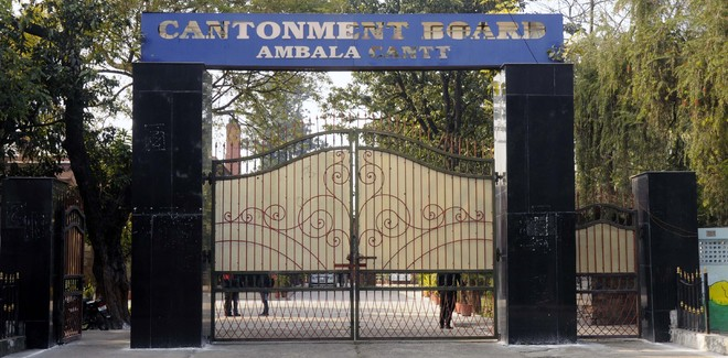 Army owes Ambala Cantt board Rs 524 cr