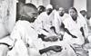 A Swiss photographer and Gandhiji