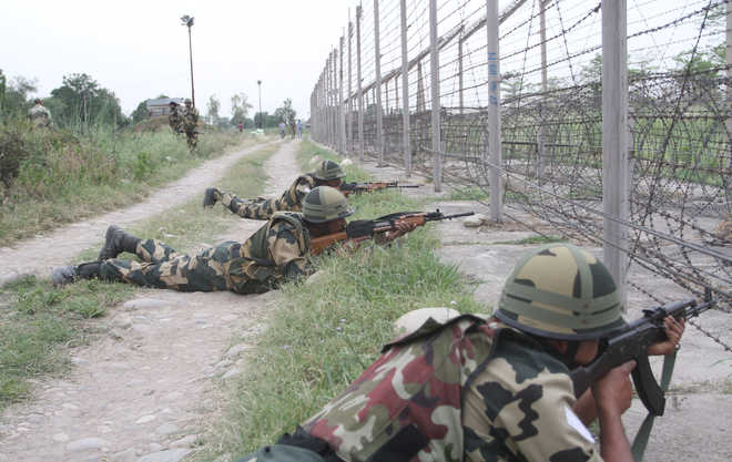 Pak army shells areas along LoC in J-K's Poonch district