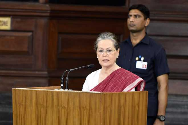 Sonia to PM: Suspend Central Vista plan, ban govt ads for 2 years