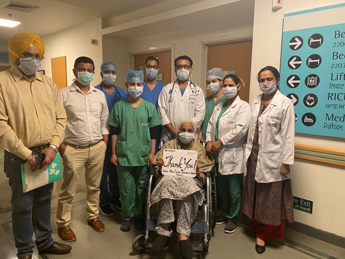 Coronavirus: 81-year-old, suffering from diabetes and hypertension, recovers in Mohali