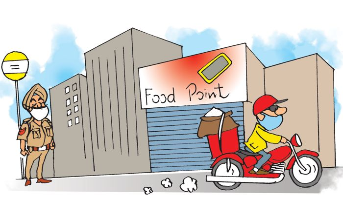 Amid lockdown, Punjabis bank on food apps for groceries