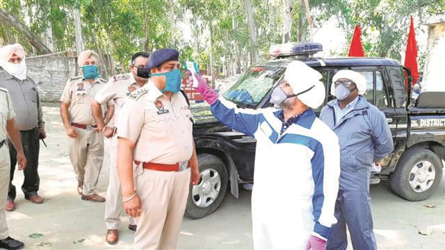 2,600 cops examined under Covid-19 screening drive in Hoshiarpur