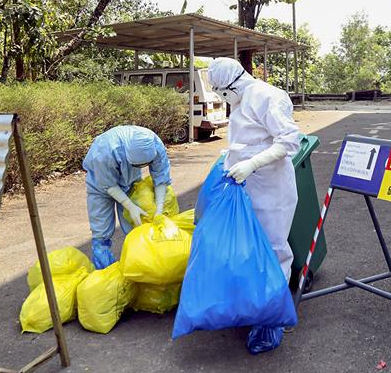 Faridkot civic body starts disinfecting jail, streets