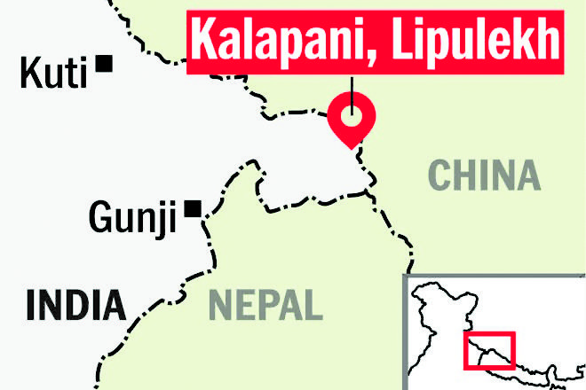 Nepal puts on hold changes on map, does not include three disputed areas with India