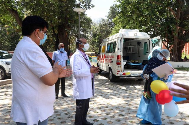 Coronavirus: Mother, 3-year-old son discharged in Chandigarh