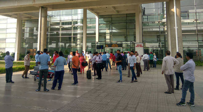 Mandatory COVID-19 test at Chandigarh airport for all travellers bound for Punjab