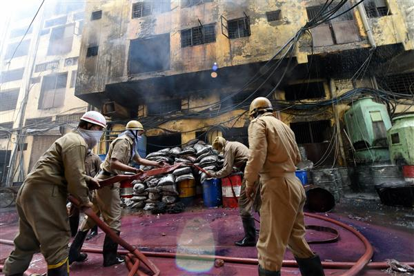 Fire at shoe factory in Delhi, no casualties reported