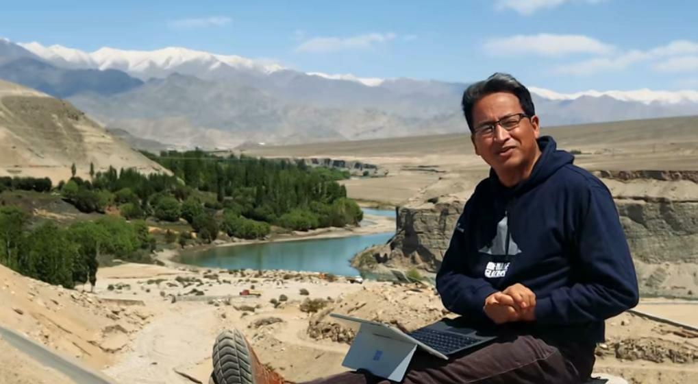 Boycott Chinese goods, deleteTikTok, says Sonam Wangchuk, man behind '3 Idiots'; Milind Soman follows