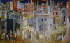 Painted panels in Italy are allegories of governance