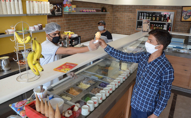 It's wait and watch situation for sweet, ice-cream shop owners