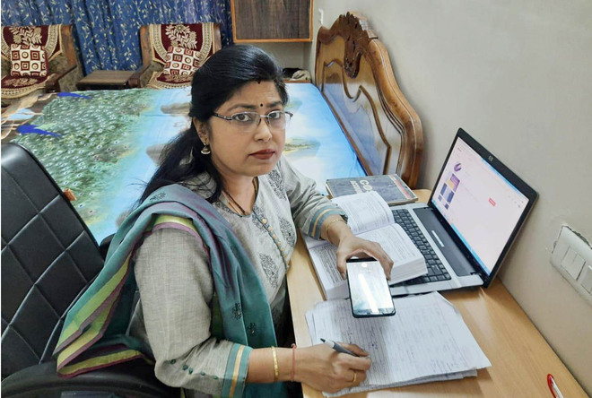 Her YouTube classes prove to be a boon for many students