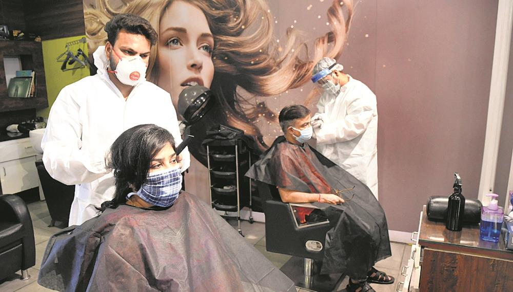 Panchkula salons back in biz with safety measures
