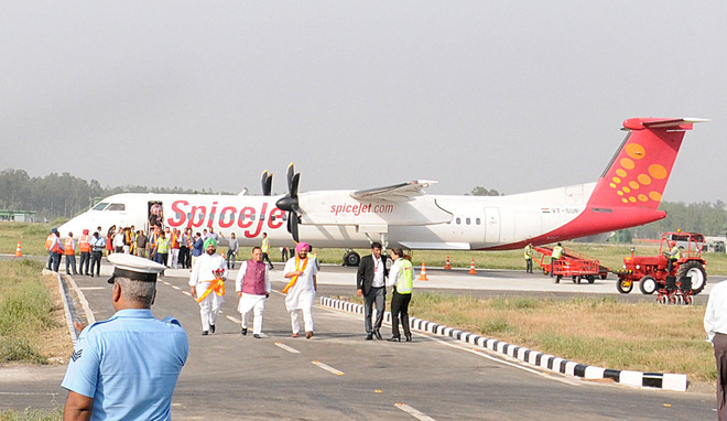 No flight takes off from Adampur