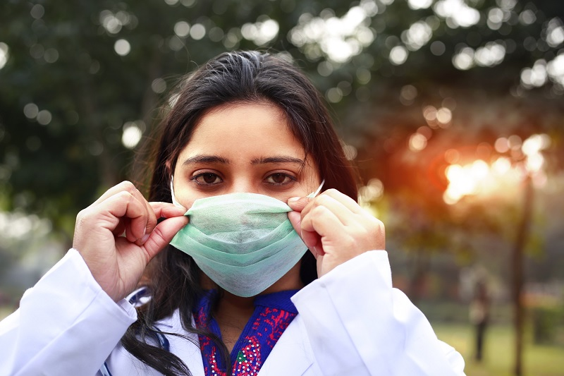 DIAT develops biodegradable mask using herbal extract