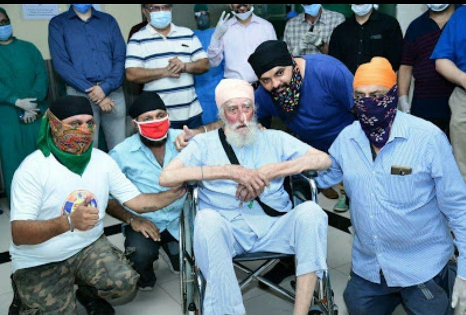 103-year-old Sikh man from Thane is country's oldest ICU survivor of Covid-19