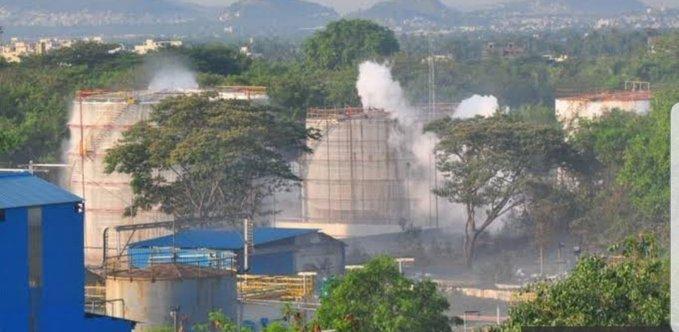2 senior employees die, 4 others taken ill as benzene gas leaks at pharma plant in Visakhapatnam