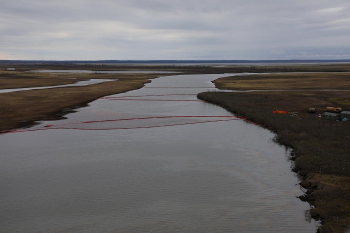 Russian Arctic oil spill now threatens Arctic Ocean