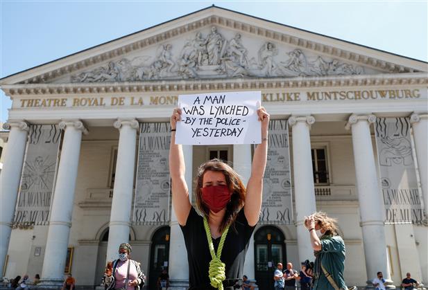 Calls in Paris for protest over George Floyd, Adama Traore