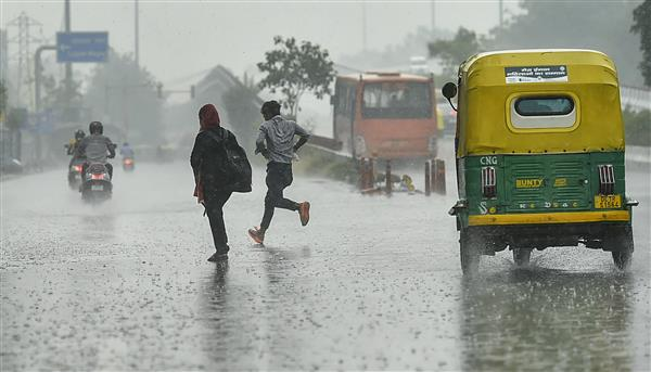 Delhi witnesses another bout of rain