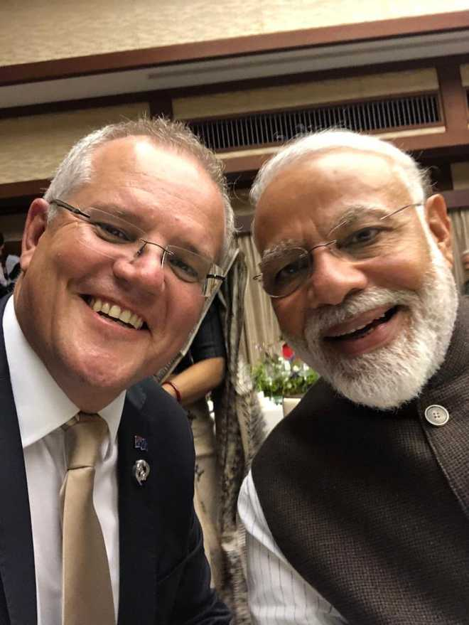 India, Australia sign joint declaration to enhance bilateral partnership