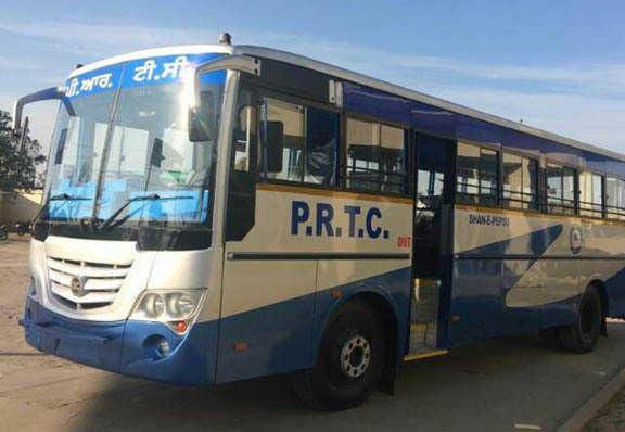 Facing loses; PRTC hikes bus fare by 6 paise per kilometre