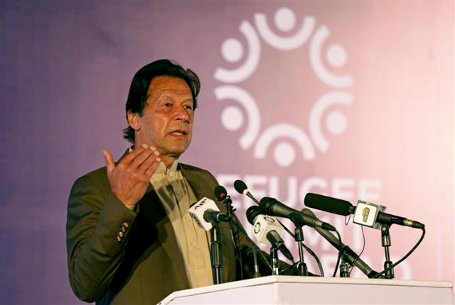 Pakistan's PM Imran Khan says 'no doubt' that India was behind stock exchange attack