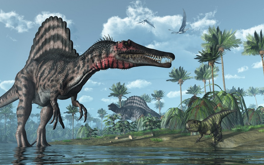 Huge African dinosaur Spinosaurus thrived in the water