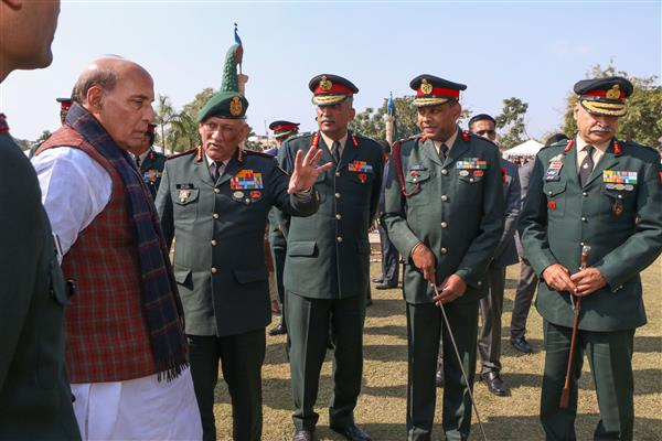 Rajnath Singh reviews India-China border situation with CDS Bipin Rawat, Service Chiefs