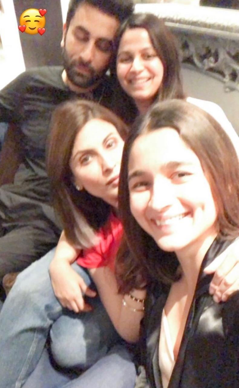 Alia Bhatt, Ranbir Kapoor, Shaheen Bhatt are Riddhima Kapoor Sahani's 'comfort zone'